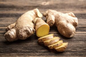 It's Wise To Boost Your Natural Immunity With Healthy Foods Such As Ginger (Zingiber officinale)